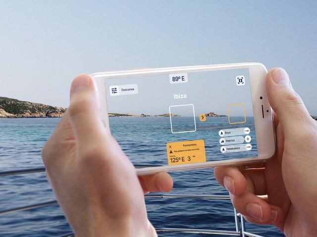 Shoreview, app de realidad aumentada para la náutica