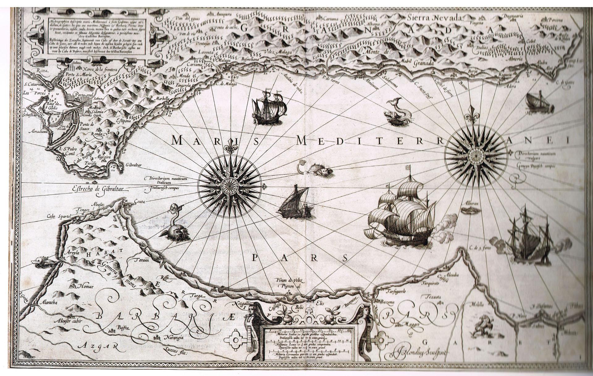 Evolución de la cartografía náutica