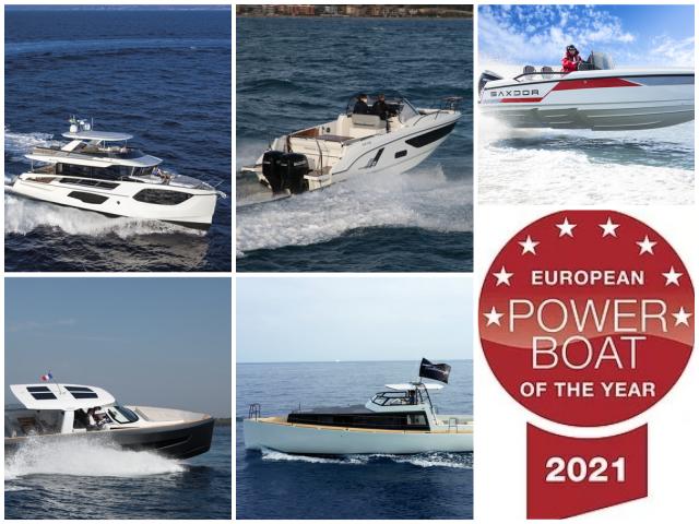 European Power Boat of the Year 2021, los ganadores