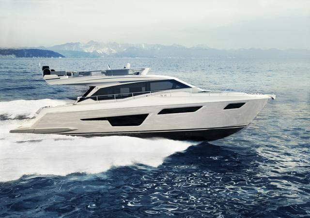 Ferretti Yacht 500
