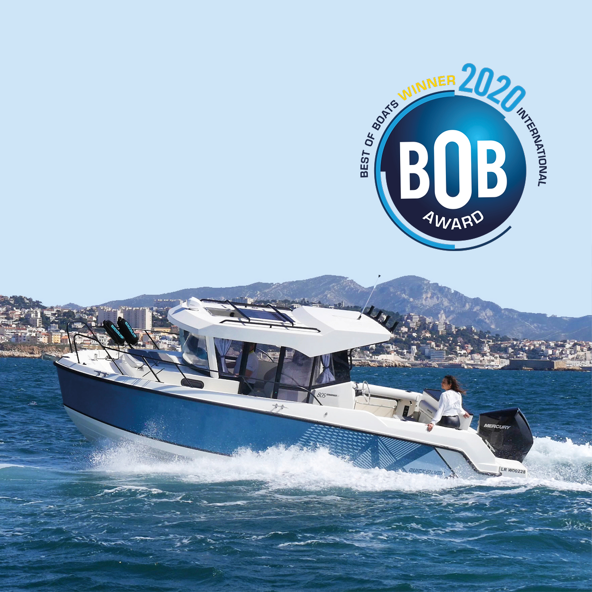 Quicksilver 805 Pilothouse