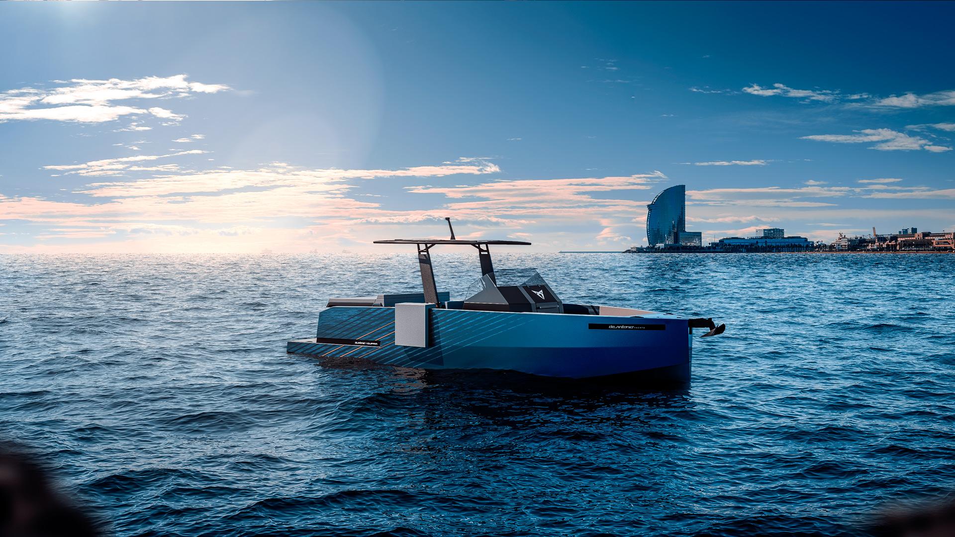 De Antonio Yachts presenta el D28 De Antonio CUPRA
