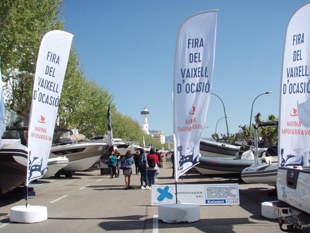La Covid-19 obliga a posponer un año más la edición 2021 de la Feria del Barco de Ocasión del Puerto de Empuriabrava