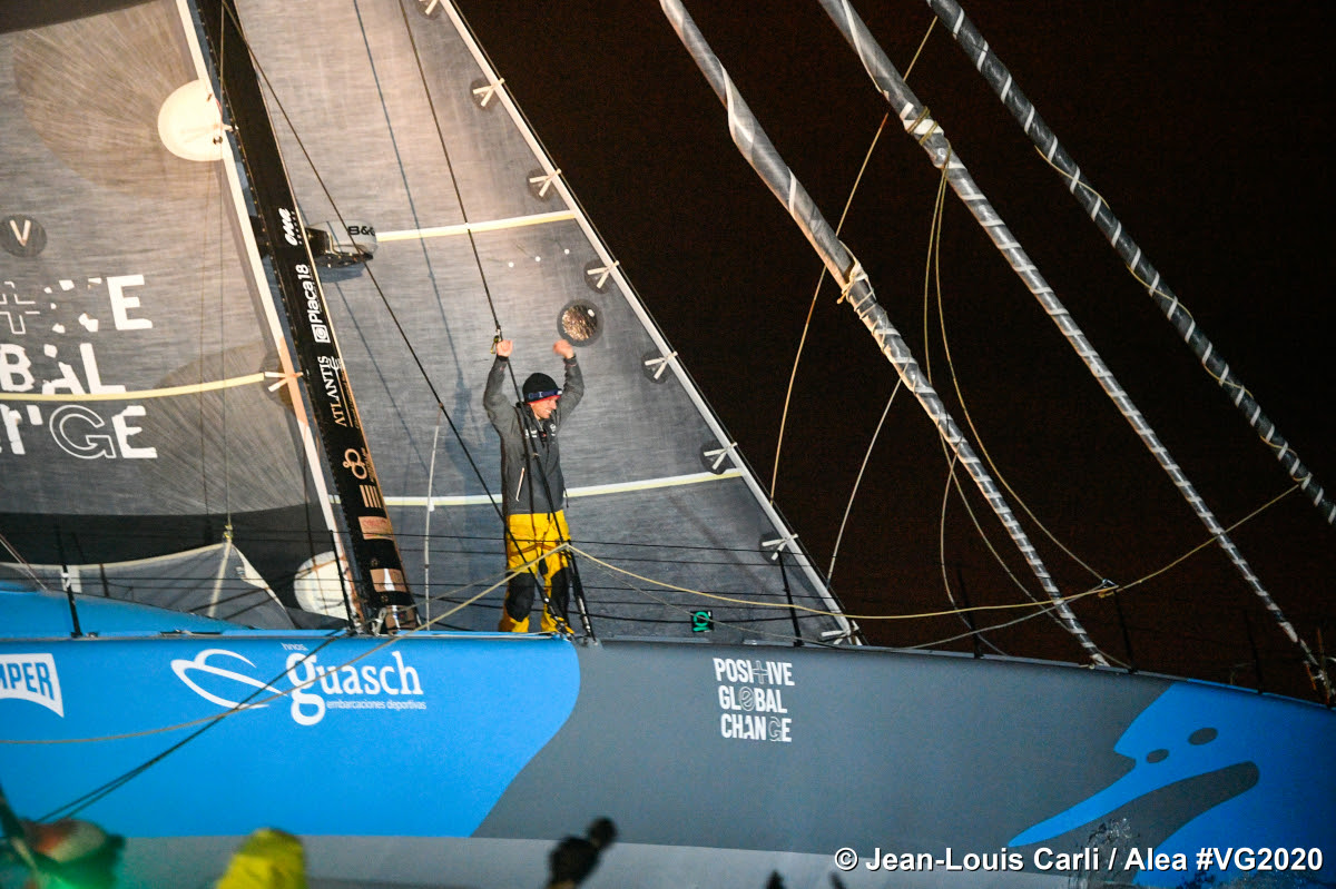 El Didac Costa (One Planet One Ocean) finaliza vigésimo en su segunda Vendée Globe