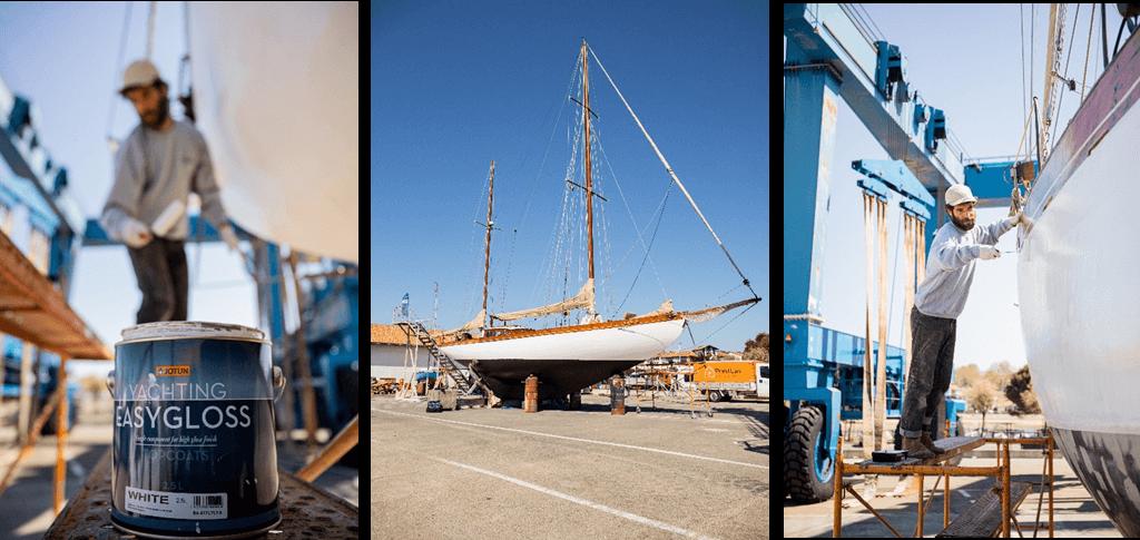 Jotun colabora con Ostarte Sailing para recuperar y poner en valor veleros clásicos
