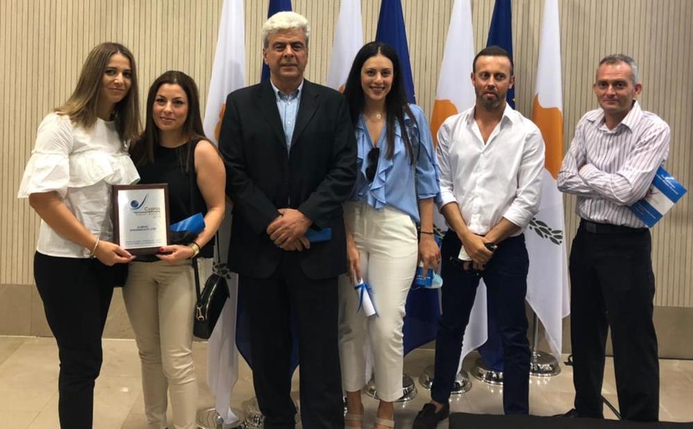 Karnic Powerboats recibe el premio Cyprus Export Award