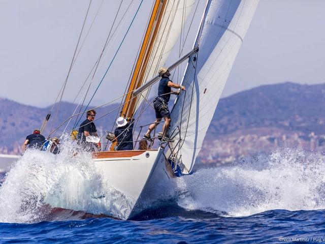 Yanira y Fjord III vencedores del día, dominan la clasificación general de la regata Puig Vela Clàssica