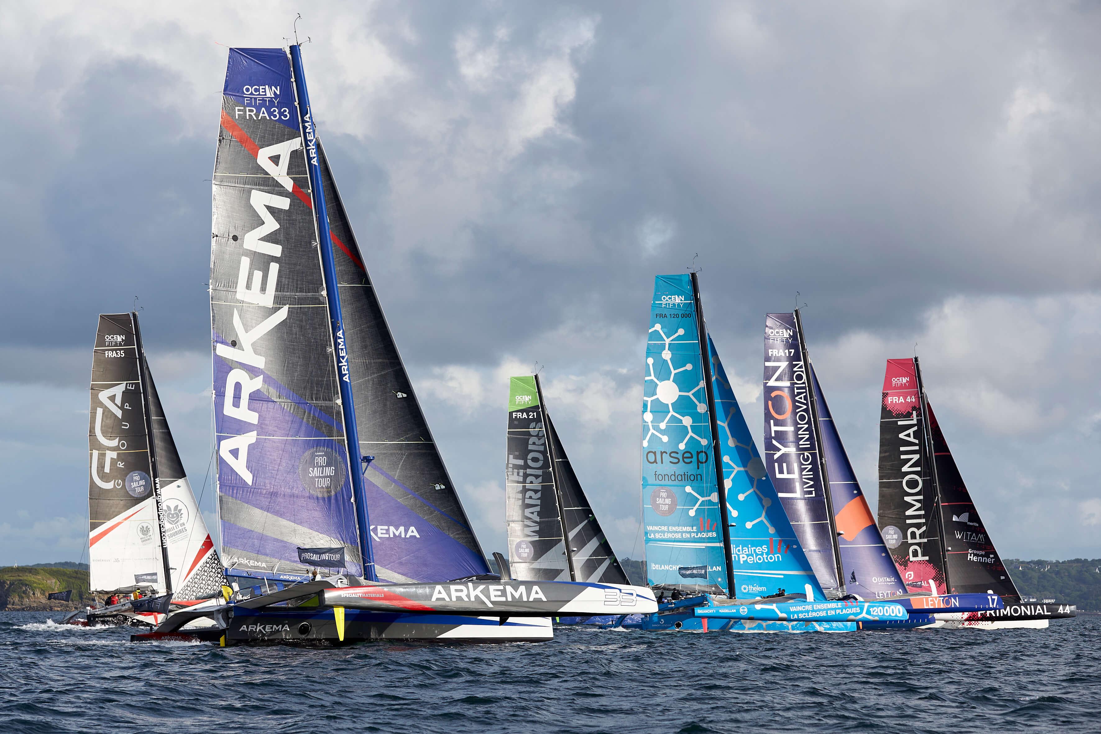 Las Palmas de Gran Canaria reúne a la mayor flota de la historia de la clase Ocean Fifty