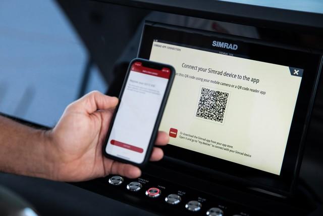 Simrad lanza una nueva app con multitud de funciones de navegación y compatibilidad con sus pantallas