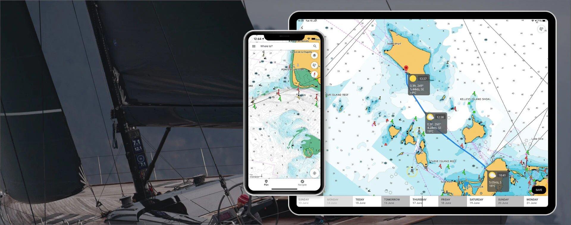 B&G presenta su última aplicación móvil con funciones de navegación mejoradas y duplicación de pantalla