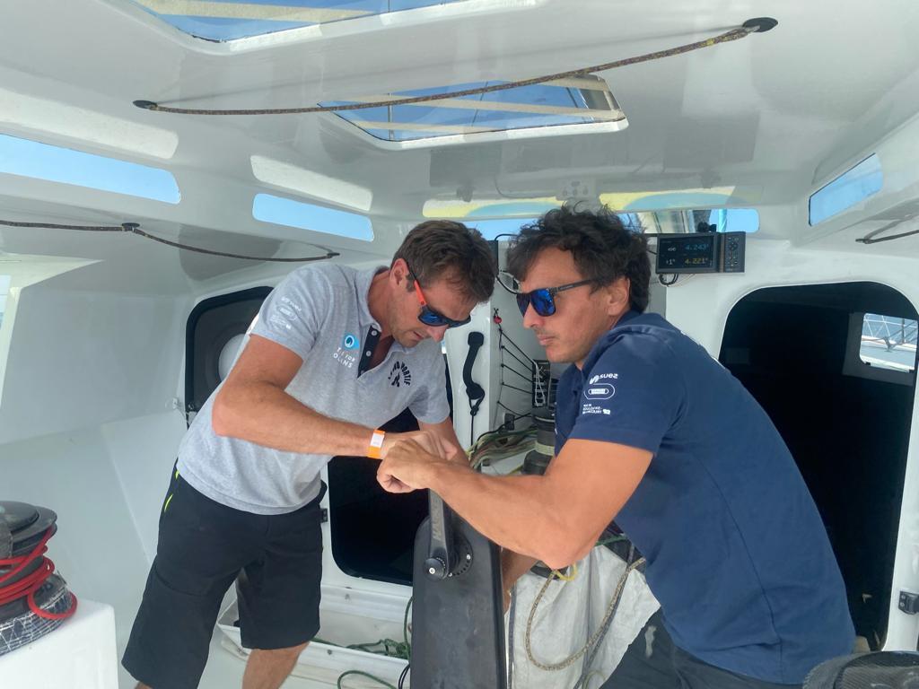 Didac Costa competirá en la Transat Jaques Vabre con Stephan Le Diraison
