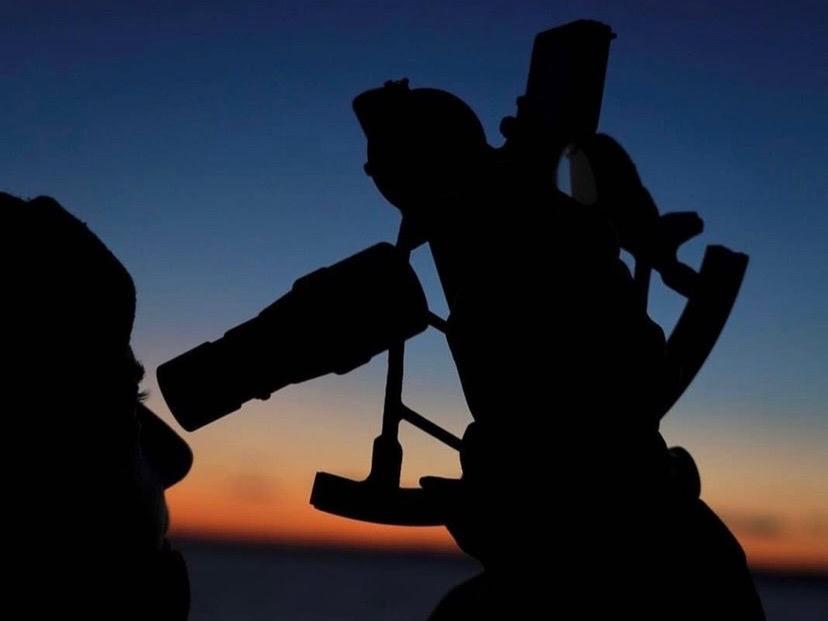 travesía astronómica STELLA OCEANI MED