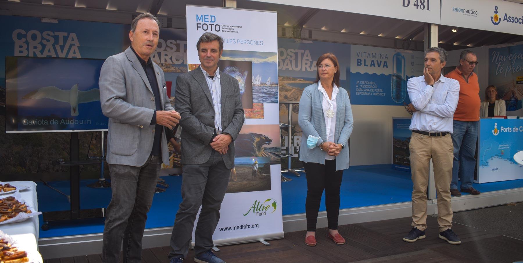 El MedFoto 2022 se presenta en el Salón Náutico de Barcelona